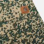 Мужские шорты Carhartt WIP Johnson Dexter Twill Camo Stain Leaf Rinsed фото- 2