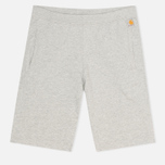 Мужские шорты Carhartt WIP Porter Sweat Grey Heather/Florida фото- 0