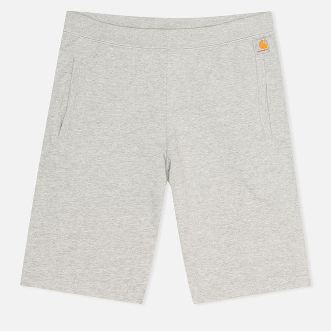 Мужские шорты Carhartt WIP Porter Sweat Grey Heather/Florida