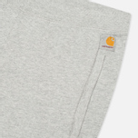 Мужские шорты Carhartt WIP Porter Sweat Grey Heather/Florida фото- 2