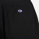 Мужские шорты Champion Reverse Weave Patch Logo Sweat Black фото- 1