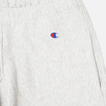 Мужские шорты Champion Reverse Weave Patch Logo Sweat Oxford Grey фото- 1