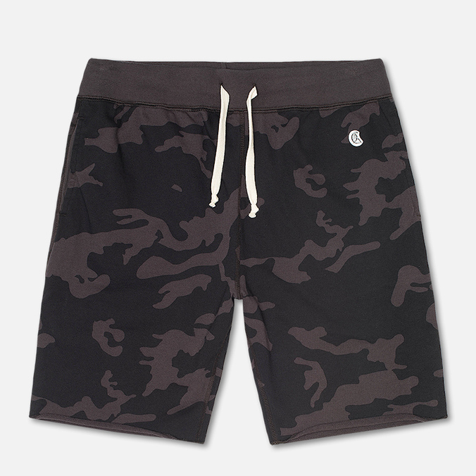 Мужские шорты Champion x Todd Snyder Cut Off Sweat Black/Camo