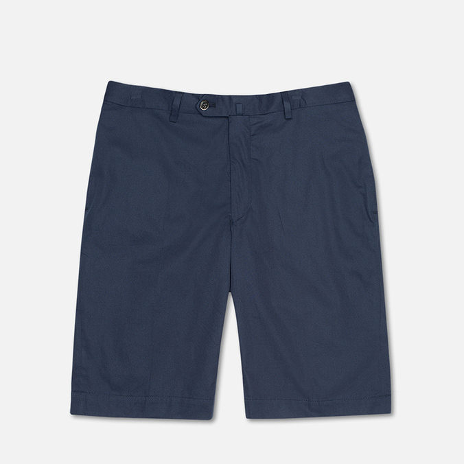 Hackett Cotton Men`s Shorts Navy