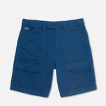 Мужские шорты Lacoste Double Face Cotton Bermuda Philippines Blue фото- 0