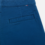 Мужские шорты Lacoste Double Face Cotton Bermuda Philippines Blue фото- 1