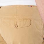 Мужские шорты Lacoste Live Cotton Twill Plain Front Bermuda Latte Beige фото- 6