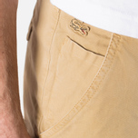 Мужские шорты Lacoste Live Cotton Twill Plain Front Bermuda Latte Beige фото- 5