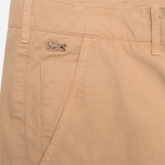 Мужские шорты Lacoste Live Cotton Twill Sahara фото- 1