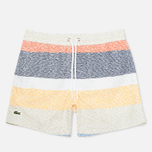 Lacoste Swim Block Stripes Men`s Shorts Multicolor photo- 0