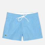 Мужские шорты Lacoste Taffeta Swim Naval/Blanc фото- 0