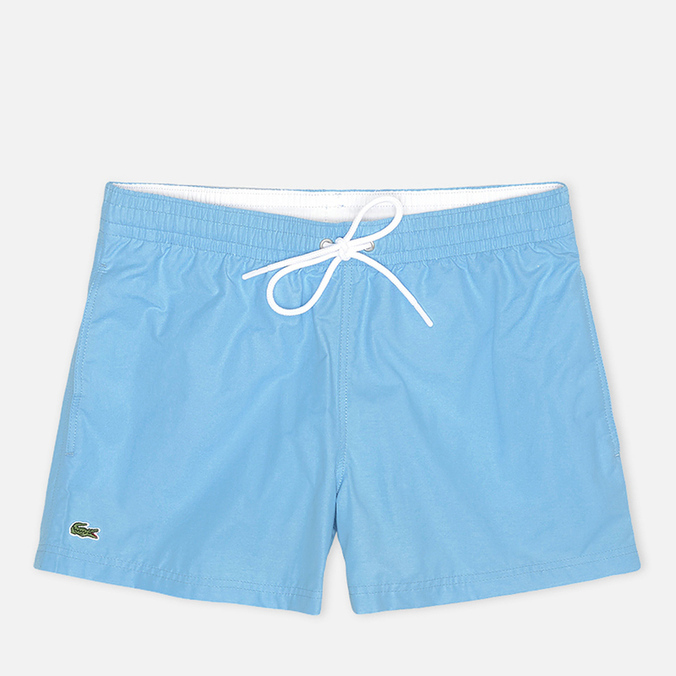 Мужские шорты Lacoste Taffeta Swim Naval/Blanc