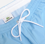 Мужские шорты Lacoste Taffeta Swim Naval/Blanc фото- 2