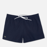 Мужские шорты Lacoste Taffeta Swim Navy Blue фото- 0