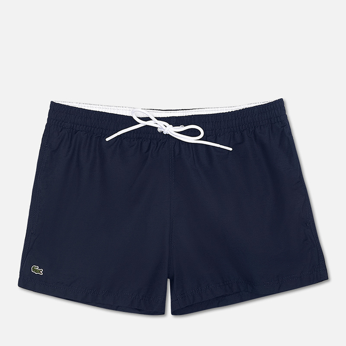 Мужские шорты Lacoste Taffeta Swim Navy Blue