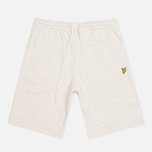 Мужские шорты Lyle & Scott Logo Sweat Light Grey Marl фото- 0