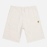 Lyle & Scott Logo Sweat Men`s Shorts Light Grey Marl photo- 0