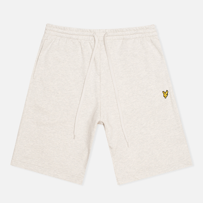 Мужские шорты Lyle & Scott Logo Sweat Light Grey Marl
