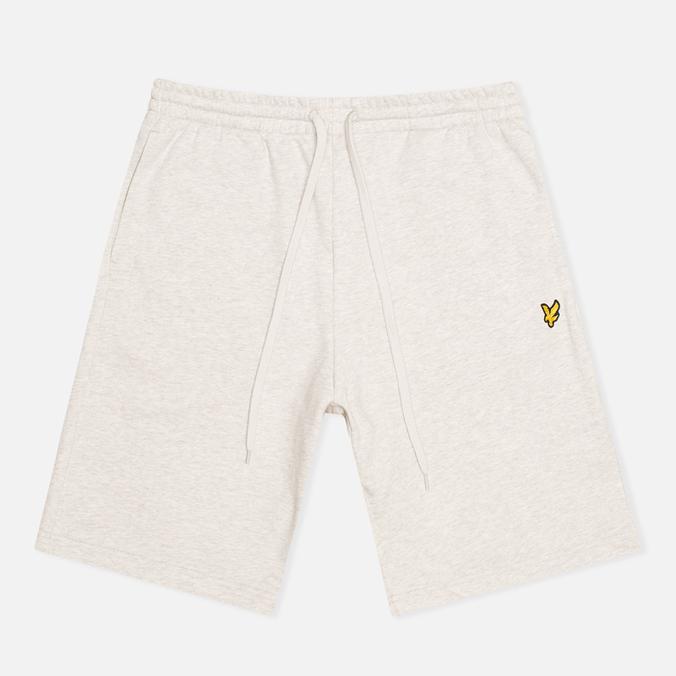 Lyle & Scott Logo Sweat Men`s Shorts Light Grey Marl