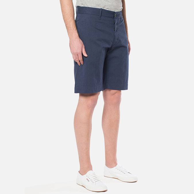 MA.Strum Military Base Flat Front Short Cool Navy
