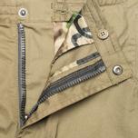 Мужские шорты Maharishi Summer 55 Organic Cotton Maha Olive фото- 2