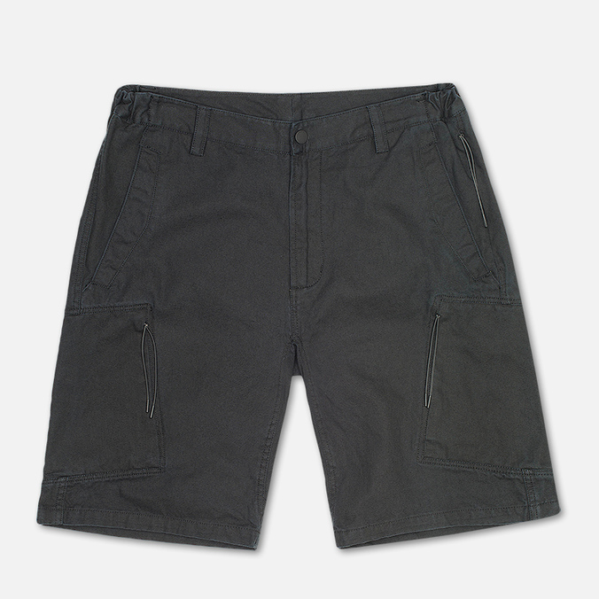 Maharishi Tour Cargo Canvas Cotton Men`s Shorts Black