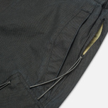 Maharishi Tour Cargo Canvas Cotton Men`s Shorts Black photo- 4