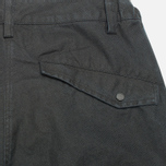 Maharishi Tour Cargo Canvas Cotton Men`s Shorts Black photo- 1