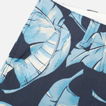 Nanamica Wind Print Men`s Shorts Blue Leaf photo- 2