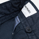 Мужские шорты Norse Projects Aros Light Twill Dark Navy фото- 2