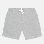 Мужские шорты Norse Projects Ro Solid Brushed Light Grey Melange фото- 0