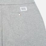 Мужские шорты Norse Projects Ro Solid Brushed Light Grey Melange фото- 1