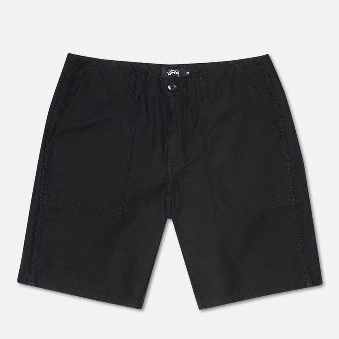 Мужские шорты Stussy Duke Solid Black