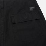 Мужские шорты Stussy Duke Solid Black фото- 1