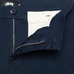 Мужские шорты Stussy Twill Gramps Navy фото- 4