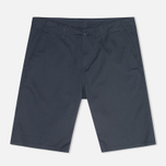 Женские шорты Carhartt WIP X' Club Trabuco Stretch Twill Duke Blue Rinsed фото- 0