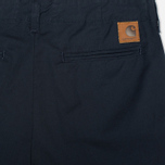 Женские шорты Carhartt WIP X' Club Trabuco Stretch Twill Duke Blue Rinsed фото- 1