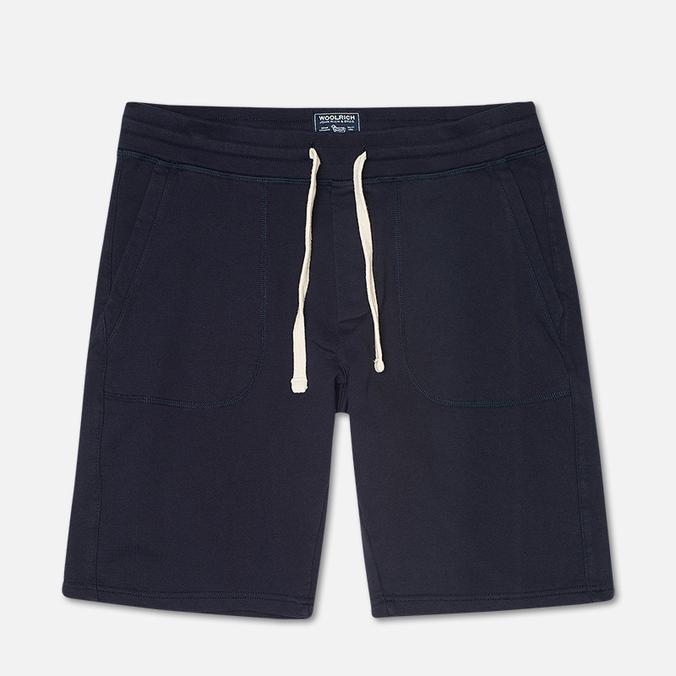 Мужские шорты Woolrich Fleece Navy