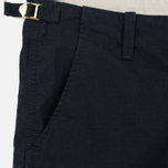 Мужские шорты Carhartt WIP Aviation Columbia Ripstop 6.5 Oz Black Rinsed фото- 1