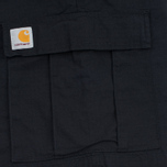Мужские шорты Carhartt WIP Aviation Columbia Ripstop 6.5 Oz Black Rinsed фото- 4