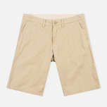Мужские шорты Carhartt WIP Johnson Twill 7 Oz Safari Garment Dyed фото- 0
