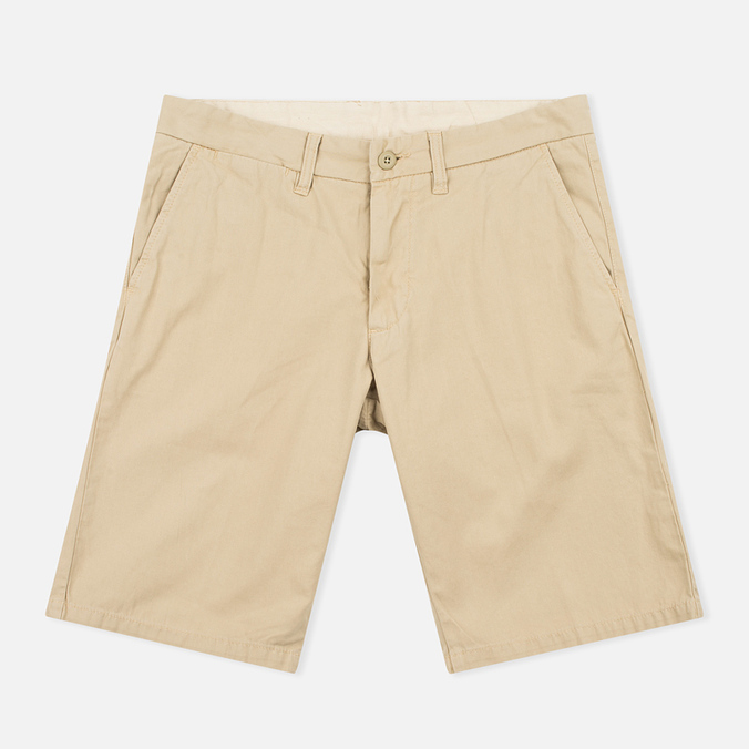 Мужские шорты Carhartt WIP Johnson Twill 7 Oz Safari Garment Dyed