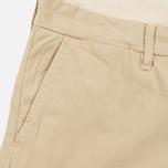 Мужские шорты Carhartt WIP Johnson Twill 7 Oz Safari Garment Dyed фото- 1