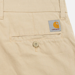 Мужские шорты Carhartt WIP Johnson Twill 7 Oz Safari Garment Dyed фото- 3