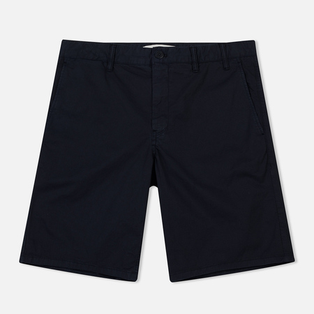 Мужские шорты Norse Projects Aros Light Twill Dark Navy