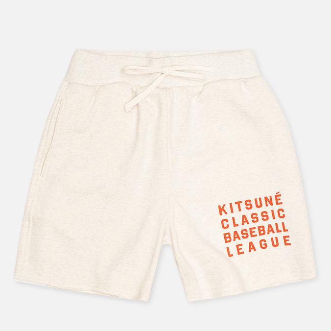 Мужские шорты Reebok x Maison Kitsune Baseball CWhite