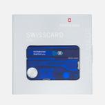 Швейцарская карта Victorinox Lite Blue фото- 1