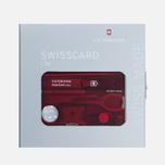 Швейцарская карта Victorinox Lite Red фото- 2