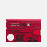 Швейцарская карта Victorinox Lite Red фото- 0