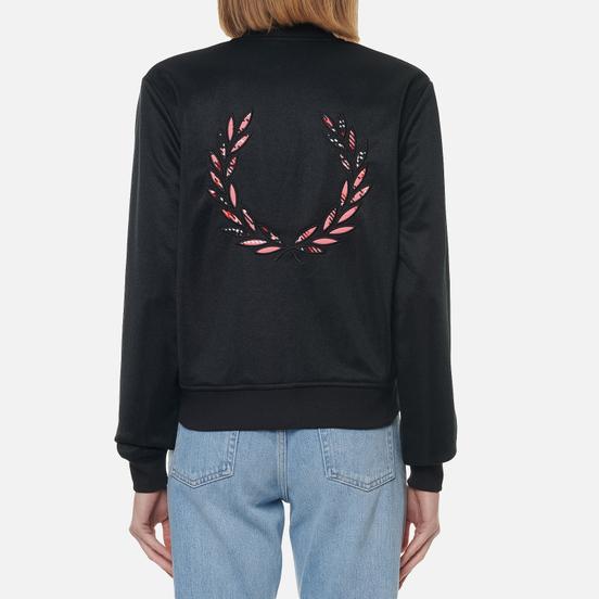 Женская куртка бомбер Fred Perry x Amy Winehouse Laurel Wreath Black